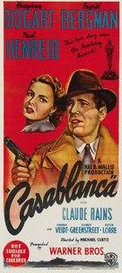 Casablanca - Australian Movie Poster (xs thumbnail)