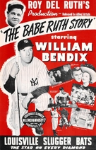 The Babe Ruth Story - Movie Poster (xs thumbnail)