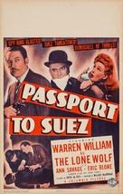 Passport to Suez - Movie Poster (xs thumbnail)