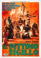 Det sjunde inseglet - Italian Movie Poster (xs thumbnail)