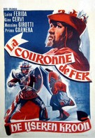 La corona di ferro - Belgian Movie Poster (xs thumbnail)