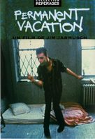 Permanent Vacation - French DVD cover (xs thumbnail)