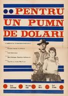 Per un pugno di dollari - Romanian Movie Poster (xs thumbnail)