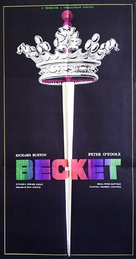 Becket - Romanian Movie Poster (xs thumbnail)
