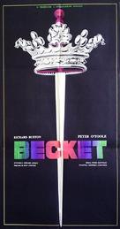 Becket - Romanian Movie Poster (xs thumbnail)