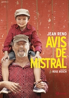 Avis de mistral - French DVD movie cover (xs thumbnail)