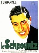 Schpountz, Le - French Movie Poster (xs thumbnail)
