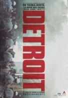 Detroit - Spanish Movie Poster (xs thumbnail)