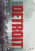 Detroit - Spanish Movie Poster (xs thumbnail)