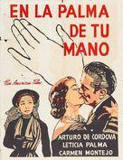 En la palma de tu mano - Mexican Movie Poster (xs thumbnail)