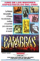 Barabbas - Argentinian Movie Poster (xs thumbnail)
