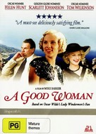 A Good Woman - Australian DVD cover (xs thumbnail)