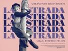 La strada - British Movie Poster (xs thumbnail)