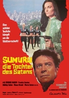 The Million Eyes of Sumuru - German Movie Poster (xs thumbnail)