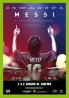 Messi - Italian Movie Poster (xs thumbnail)