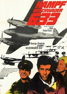 633 Squadron - German Movie Poster (xs thumbnail)