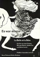 La belle et la bête - German Movie Poster (xs thumbnail)