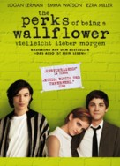 The Perks of Being a Wallflower - German Movie Poster (xs thumbnail)