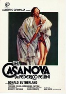 Il Casanova di Federico Fellini - Spanish Movie Poster (xs thumbnail)