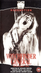 Witchfinder General - British VHS movie cover (xs thumbnail)