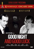 Good Night, and Good Luck. - Polish DVD movie cover (xs thumbnail)