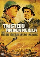 Battle of the Bulge - Finnish Movie Cover (xs thumbnail)