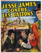 Jesse James vs. the Daltons - Belgian Movie Poster (xs thumbnail)
