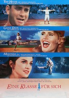 A League of Their Own - German Movie Poster (xs thumbnail)