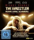 The Wrestler - German Blu-Ray cover (xs thumbnail)
