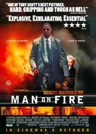 Man On Fire - British Movie Poster (xs thumbnail)