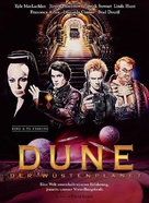 Dune - German Blu-Ray movie cover (xs thumbnail)
