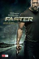 Faster - Australian Movie Poster (xs thumbnail)
