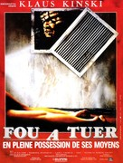 Crawlspace - French Movie Poster (xs thumbnail)