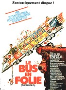 The Big Bus - French Movie Poster (xs thumbnail)