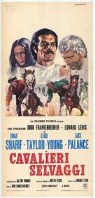 The Horsemen - Italian Movie Poster (xs thumbnail)
