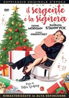 Christmas in Connecticut - Italian DVD movie cover (xs thumbnail)