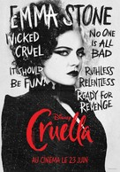 Cruella - French Movie Poster (xs thumbnail)