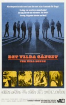 The Wild Bunch - Swedish Movie Poster (xs thumbnail)