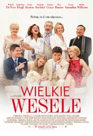The Big Wedding - Polish Movie Poster (xs thumbnail)