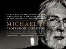 Michael Haneke - Porträt eines Film-Handwerkers - British Movie Poster (xs thumbnail)
