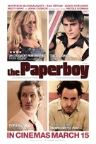 The Paperboy - British Movie Poster (xs thumbnail)