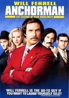 Anchorman: The Legend of Ron Burgundy - DVD cover (xs thumbnail)