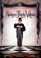 Addams Family Values - Spanish Movie Poster (xs thumbnail)