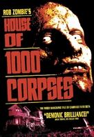 House of 1000 Corpses - DVD movie cover (xs thumbnail)
