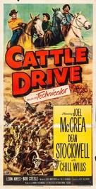 Cattle Drive - Movie Poster (xs thumbnail)