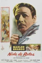 On the Waterfront - Argentinian Movie Poster (xs thumbnail)