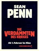 Casualties of War - German Movie Poster (xs thumbnail)