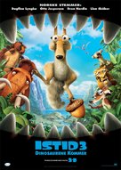 Ice Age: Dawn of the Dinosaurs - Norwegian Movie Poster (xs thumbnail)