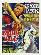 Moby Dick - Belgian Movie Poster (xs thumbnail)