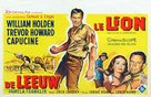 The Lion - Belgian Movie Poster (xs thumbnail)